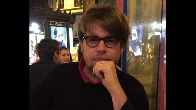 Johan Hallgren från Borås bor i Paris sedan två år tillbaka. Foto: Privat