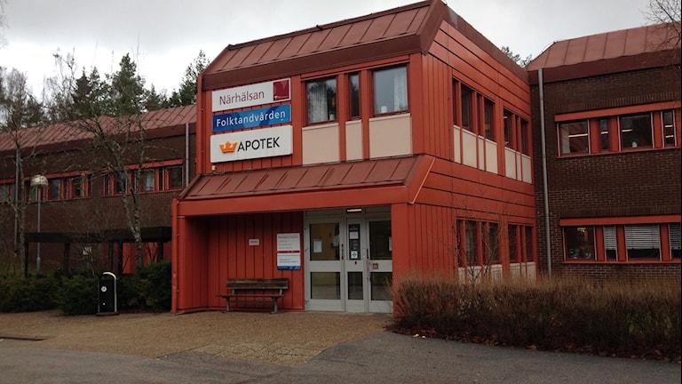 Viskafors vårdcentral. Foto: Magdalena Brander/SR
