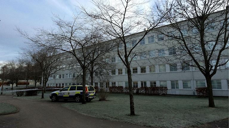 Hässleholmen skottlossning. Foto: Maria Hansson Trens/SR