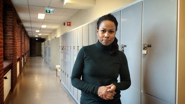 Kultur- och demokratiminister Alice Bah Kuhnke. Foto: Maria Hansson Trens/SR