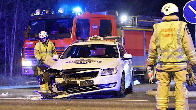 Taxiolycka. Foto Joakim Eriksson/Agena foto