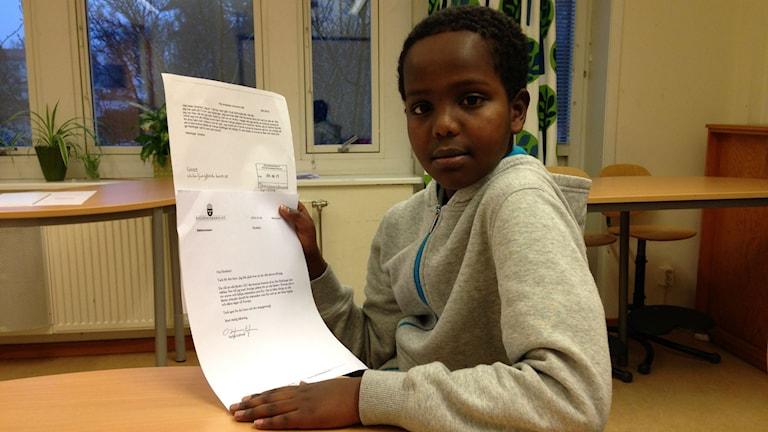 Ibrahim Mohammed Ahmed. Foto: Sofia Kristiansen/SR