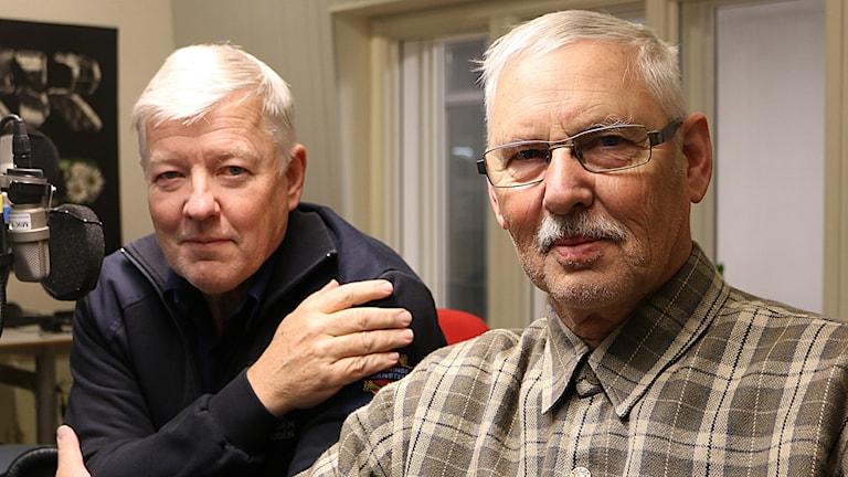 Per Rosén och Sten Björkman Foto: Petra Svedjevik/SR