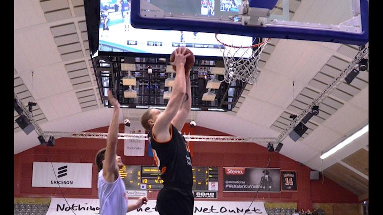 Christian Maråker Borås Basket Foto Kristoffer Lidén