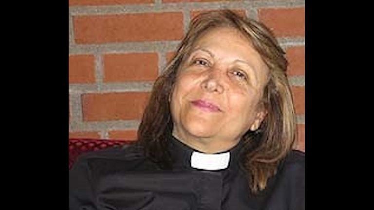 Sanna Mansouri. Foto: Svenska missionskyrkan