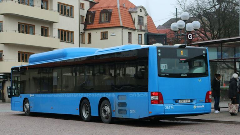 En av Västtrafiks bussar. Foto: Minna Nilsson Ylitalo/SR