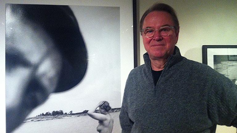Bengt Wanselius, fotograf. Foto: Jenny Hellström/SR