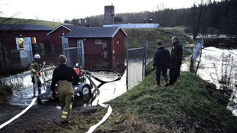 Vattenverket i Fritsla Foto: Maria Hansson Trens/SR
