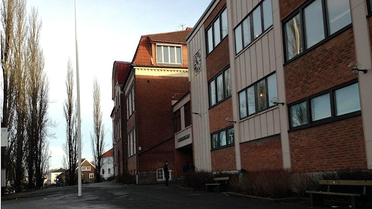 Stenbocksskolan i Ulricehamn, en av sklorna som undersöktes. Foto: Anton Svensson / SR