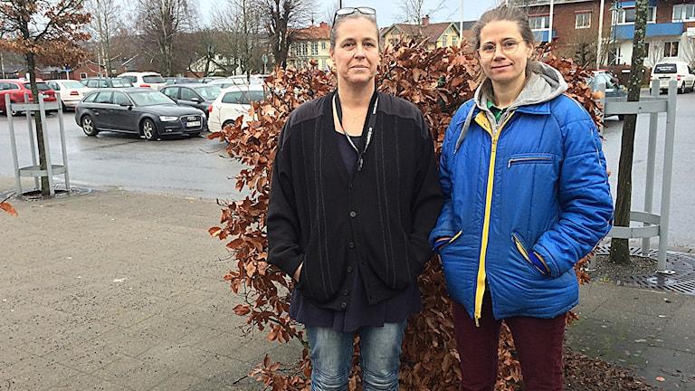 Ingela Zetterlind och Lotta Andersson Foto: Melissa Gustafsson/SR