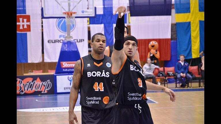 Omar Krayem Borås Basket. Foto Kristoffer Lidén