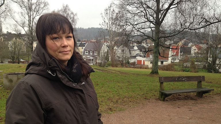 Anne Pihlo, kommunombud för Lärarnas Riksförbund i Borås. Foto: Anton Svensson / SR