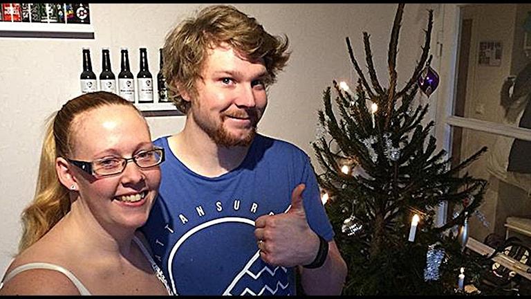 Sara och Mattias Svärd Foto: Melissa Gustafsson/SR