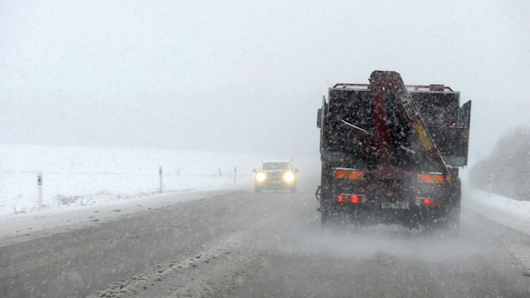 Snöoväder. Foto: Pontus Stenberg/TT