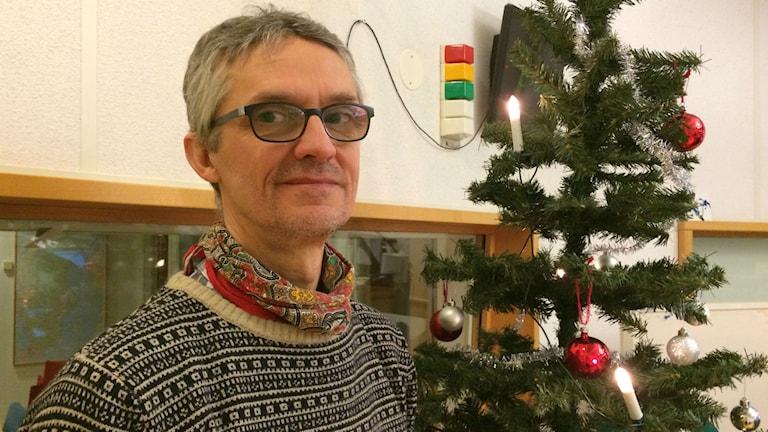 Per Florén, näringslivschef i Herrljunga. Foto: Karin Ivarsson / SR.