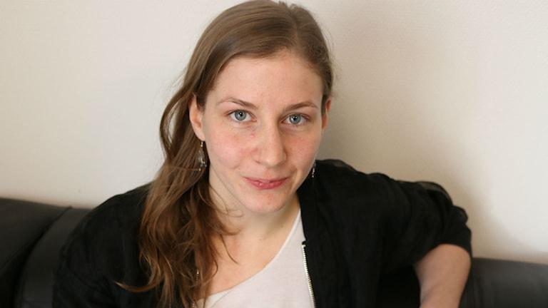 Evelina Wikner. Foto: Sofia Kristiansen/SR