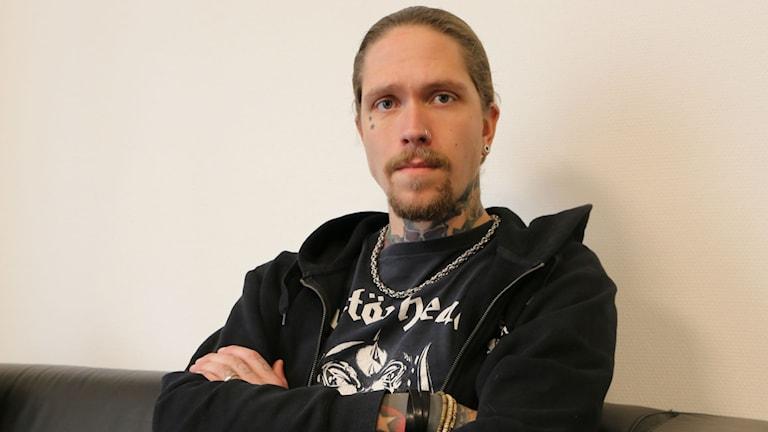 Andreas Strandh. Foto: Sofia Kristiansen/SR
