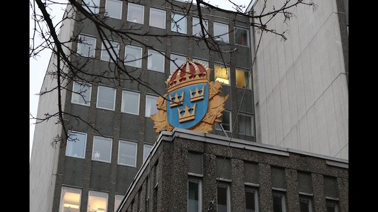Polishuset i Borås. FOTO: Eric Porali