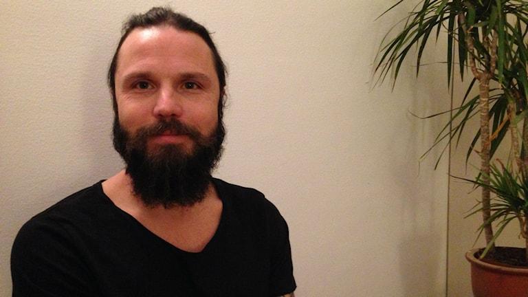 Joakim Modin. Foto: Sofia Kristiansen/SR