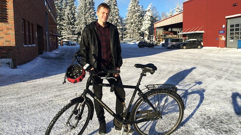 Martin Bjerling. Foto: Melissa Gustafsson/SR