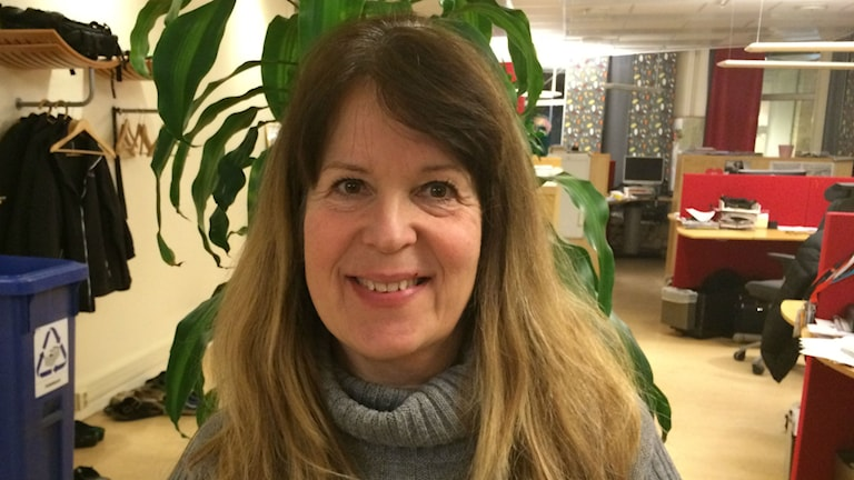 Ewa Ögren, god man i Borås. Foto: Karin Ivarsson / SR.