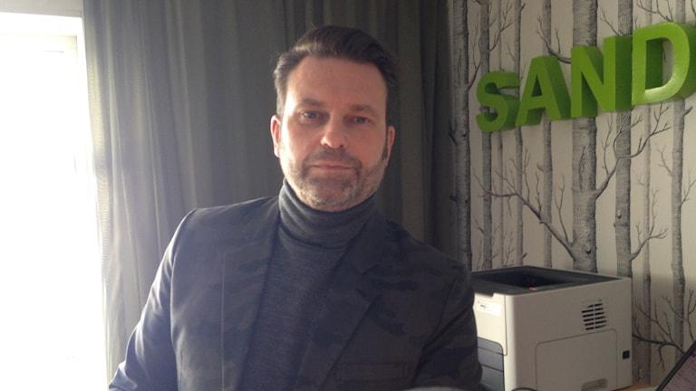 Jonas Sahlberg rektor på Sandaredskolan
