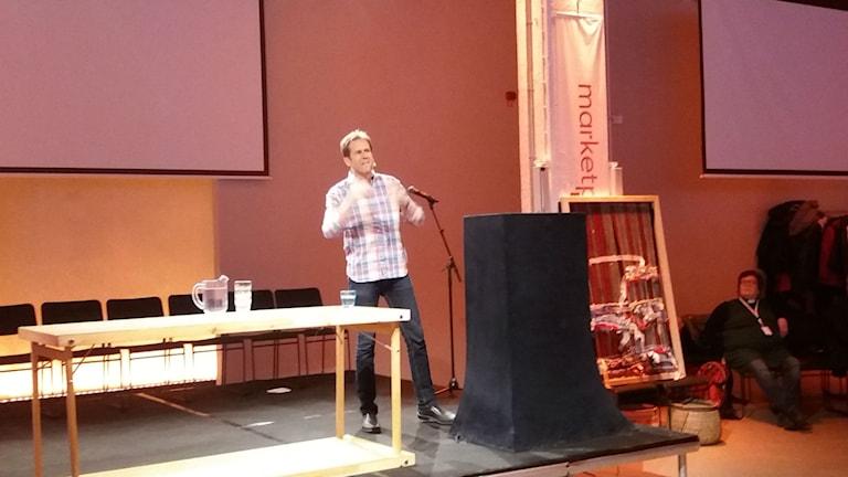 Svante Axelsson, generalsekreterare på Naturskyddsföreningen. Foto: Camilla Walldán/SR