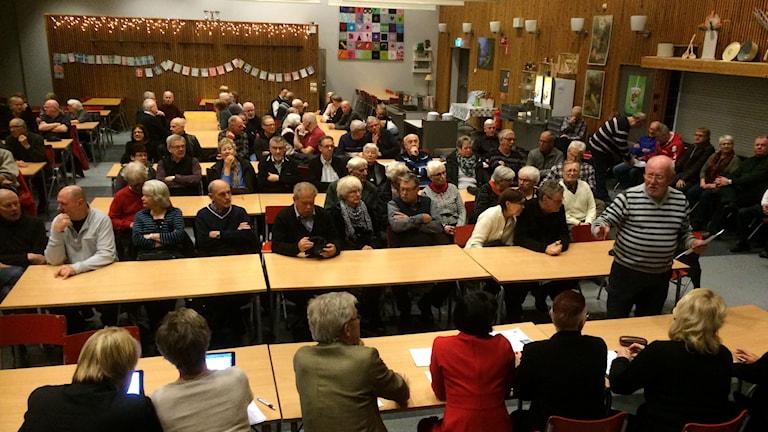 Politikerna fick stå till svars i Viskafors.