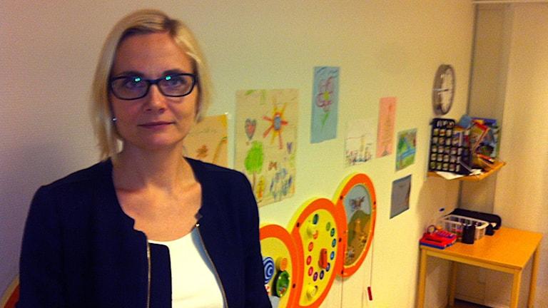 Katrin Sepp, psykolog Foto: Jenny Hellström/SR
