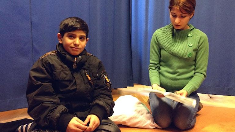Achmed och Asmaa Khudad. Foto: Sofia Kristiansen/SR