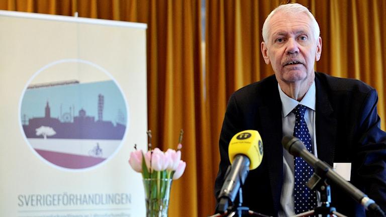 HG Wessberg, Sverigeförhandlingen.