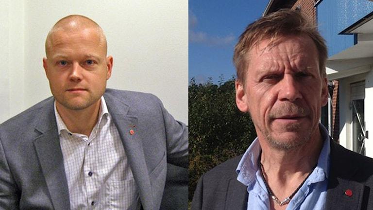Mattias Josefsson och Peter Rosholm