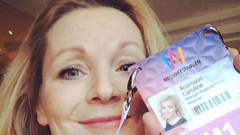 P4 Sjuhärads Caroline Aronsson är redo för Melodifestivalen