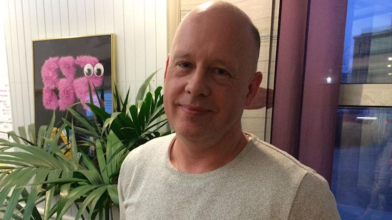 Johan Lindqvist, kultur- och nöjesjournalist på GP. Foto: Karin Ivarsson / SR