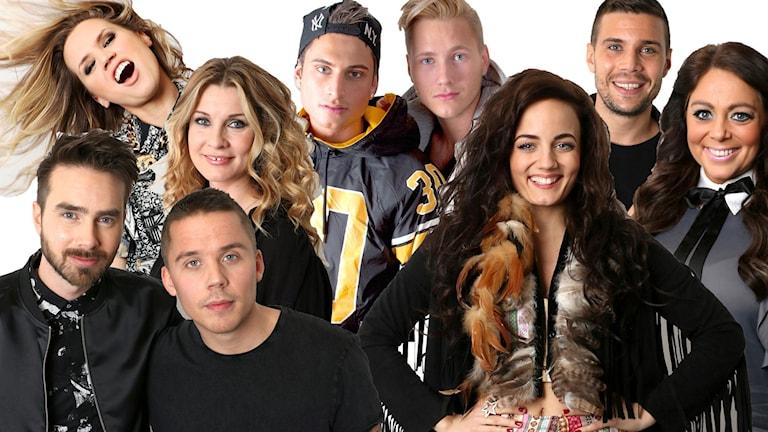 Artister i Göteborg Melodifestivalen 2016
