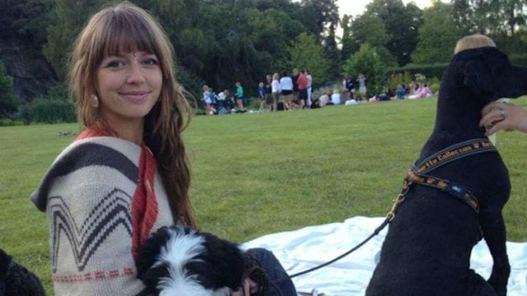 Hundinstruktören Charlotte Olsson