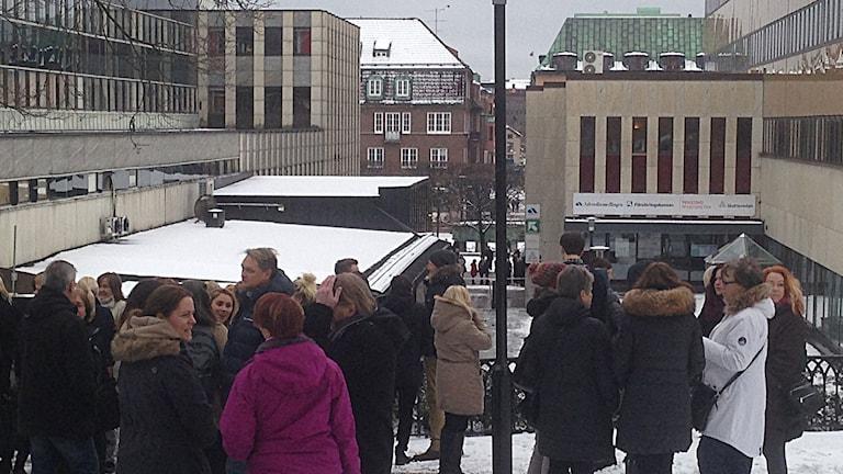 Försäkringskassan i Borås utrymd