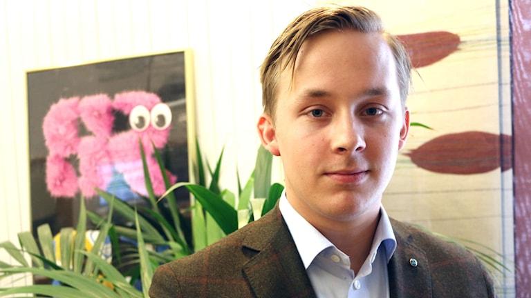Niklas Arvidsson, ordförande i Kristdemokraterna Borås