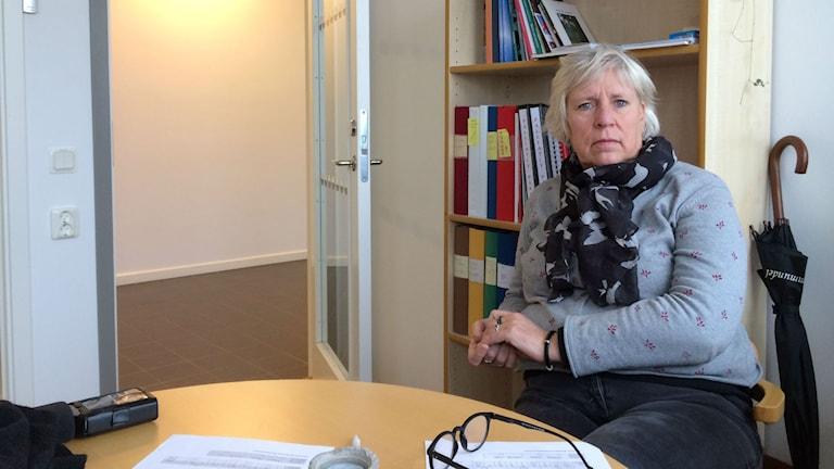 Ingalill Lindberg chef för vård- och omsorgsboende och ärendehandläggning i stadsdelsförvaltningen väster i Borås