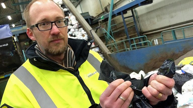 Jonas Holmberg - kommunikationschef på Borås energi och miljö.