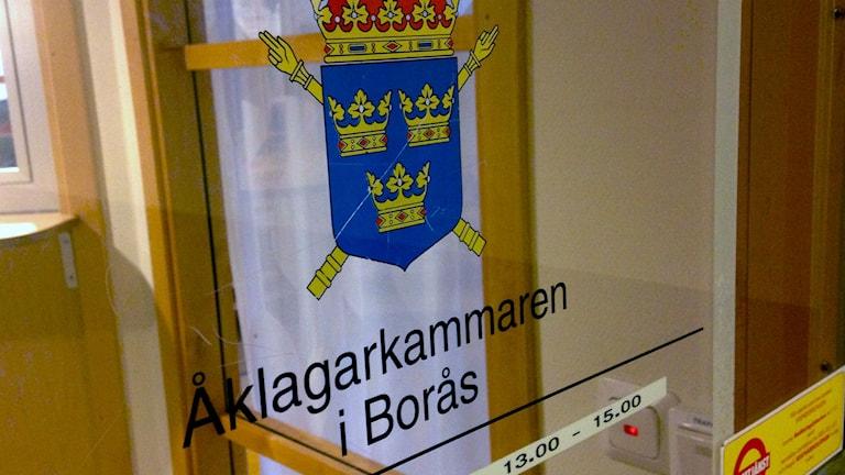 Om man inte har restriktioner kommer färre brott att klaras upp menar Åklagarkammaren i Borås. Foto: Eric Porali.
