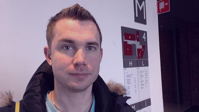 Niklas Lindroth vill se att arbetet med cyberbrott försvinner från polisens ansvarsområde. Foto: Eric Porali.