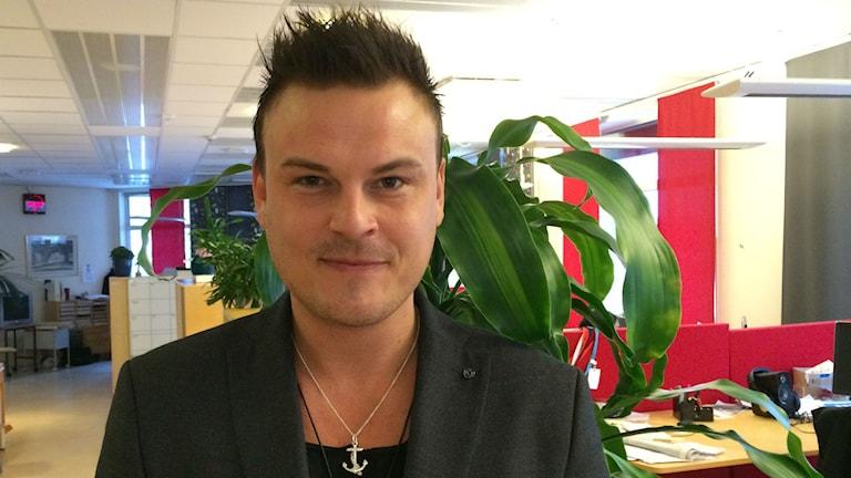 Chris Järnhester från Tranemo. Foto: Karin Ivarsson / SR