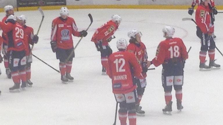 Gårdagens vinst räckte inte - nu väntar division 3 för Borås Hockey.