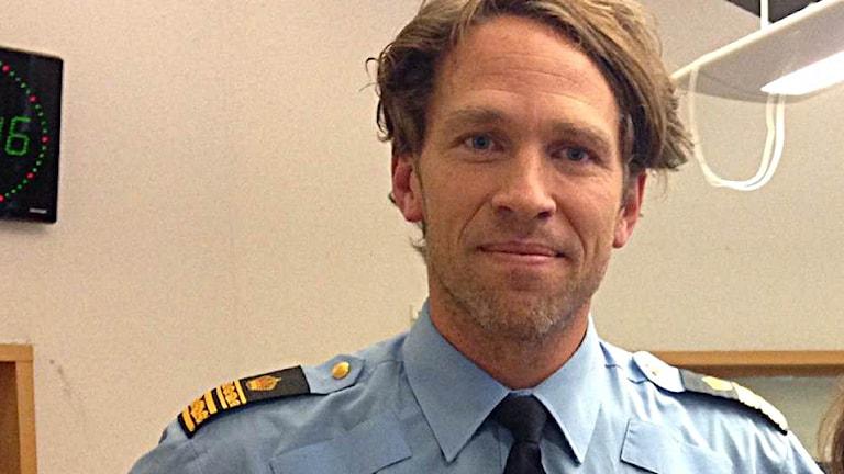 Tomas Jansson polisområdeschef