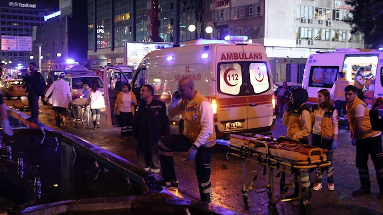 Bombdåd i Turkiets huvudstad Ankara 13 mars 2016
