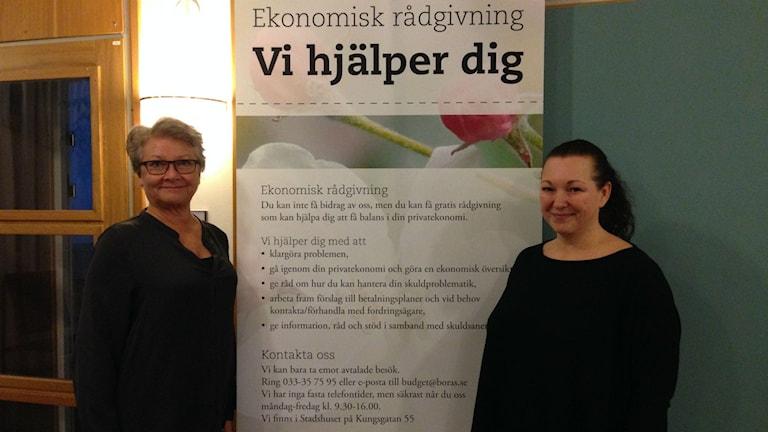 Sonja Carlsson och Anneli Nilsson.