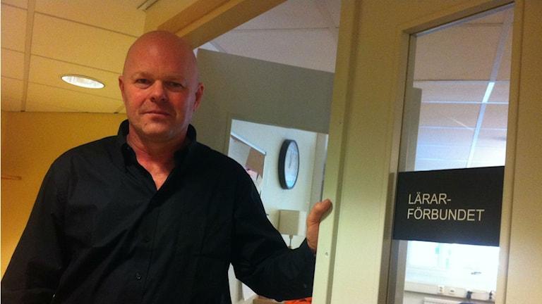 Rickard Jennerhed, vice ordförande Lärarförbundet Borås.