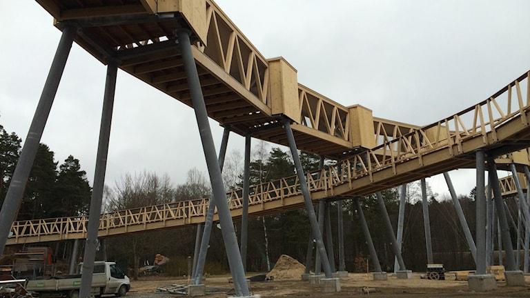 Nya bron i Borås Djurpark