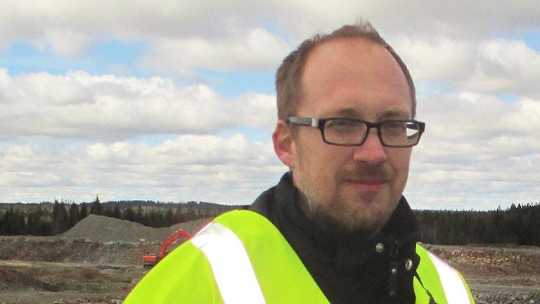 Jonas Holmberg, kommunikationschef vid Borås Energi och Miljö.